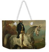 Count Alfred De Montgomery 1810-91 1850-60 Oil On Canvas Weekender Tote Bag