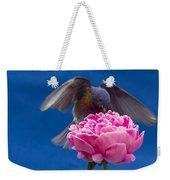 Count Bluebird Weekender Tote Bag