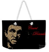 Count Dracula Visits Halifax Weekender Tote Bag