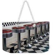 Counter Seats Weekender Tote Bag