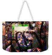 Counterculture Of The 1960s Weekender Tote Bag by Elizabeth McTaggart