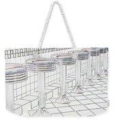 Counterseats-2 Weekender Tote Bag