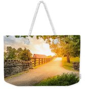Country Alley Weekender Tote Bag