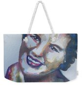 Country Artist Patsy Cline Weekender Tote Bag