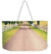 Country Back Roads Weekender Tote Bag