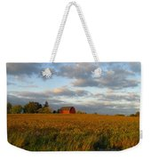 Country Backroad Weekender Tote Bag