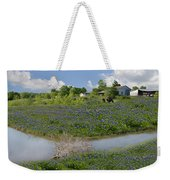 Country Blues Weekender Tote Bag