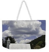 Country Church And Sign Weekender Tote Bag