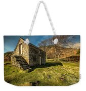Country Cottage Weekender Tote Bag by Adrian Evans