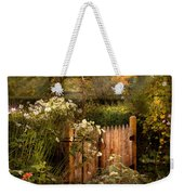Country - Country Autumn Garden  Weekender Tote Bag by Mike Savad
