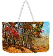 Country Curves And Vultures Paint Weekender Tote Bag