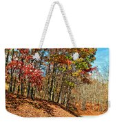 Country Curves And Vultures Weekender Tote Bag