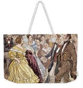 Country Dance, 1820s Weekender Tote Bag