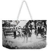 Country Dance, 19th Century Weekender Tote Bag