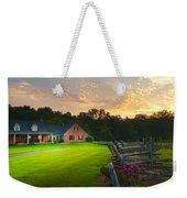 Country Estate Sunset Weekender Tote Bag