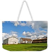 Country Farm Weekender Tote Bag by Frozen in Time Fine Art Photography