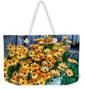 Country Floral Weekender Tote Bag
