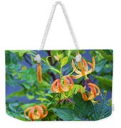 Country Flowers Weekender Tote Bag