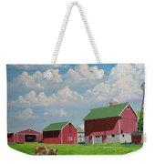 Country Home Weekender Tote Bag