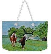 Country Horses Weekender Tote Bag