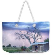 Country Horses Riders On The Storm Weekender Tote Bag