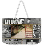 Country Hospitality Weekender Tote Bag