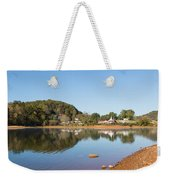 Country Lake Scene Weekender Tote Bag