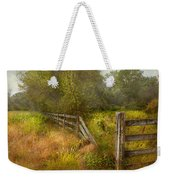 Country - Landscape - Lazy Meadows Weekender Tote Bag by Mike Savad