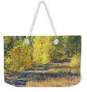 Country Lane Digital Oil Painting Weekender Tote Bag