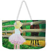 Country Meets City Weekender Tote Bag