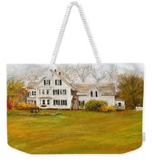 Country Moments-farmhouse In Woodstock Vermont Weekender Tote Bag