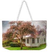 Country Pink Weekender Tote Bag by Debra and Dave Vanderlaan