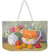 Country Pitcher With Sugar Bowl Weekender Tote Bag