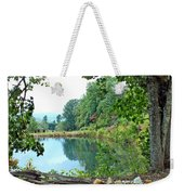 Country Pond Weekender Tote Bag