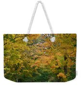 Country Road Fall Vermont Weekender Tote Bag