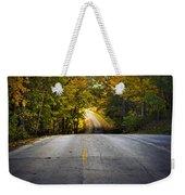 Country Road In Fall Weekender Tote Bag