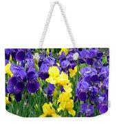 Country Road Irises  Weekender Tote Bag