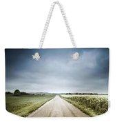 Country Road Through Fields, Denmark Weekender Tote Bag by Evgeny Kuklev