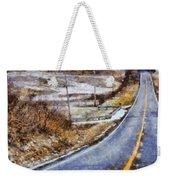 Country Roads In Ohio Weekender Tote Bag