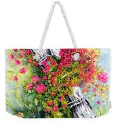 Country Rose Weekender Tote Bag