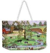 Country Scene Weekender Tote Bag