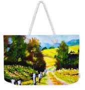 Country Side Weekender Tote Bag