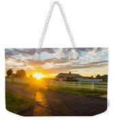 Country Skies Weekender Tote Bag