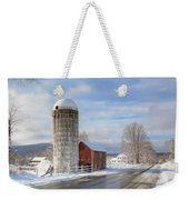 Country Snow Weekender Tote Bag by Bill Wakeley