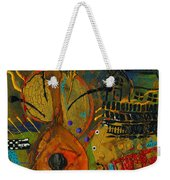 Country Songs Playing In The Background Weekender Tote Bag