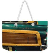 Country Squire Wagon Weekender Tote Bag
