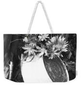 Country Summer - Bw 02 Weekender Tote Bag