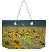 Country Sunflowers Weekender Tote Bag