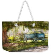 Country - The Old Wagon Out Back  Weekender Tote Bag