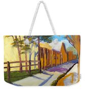 Country Village Weekender Tote Bag